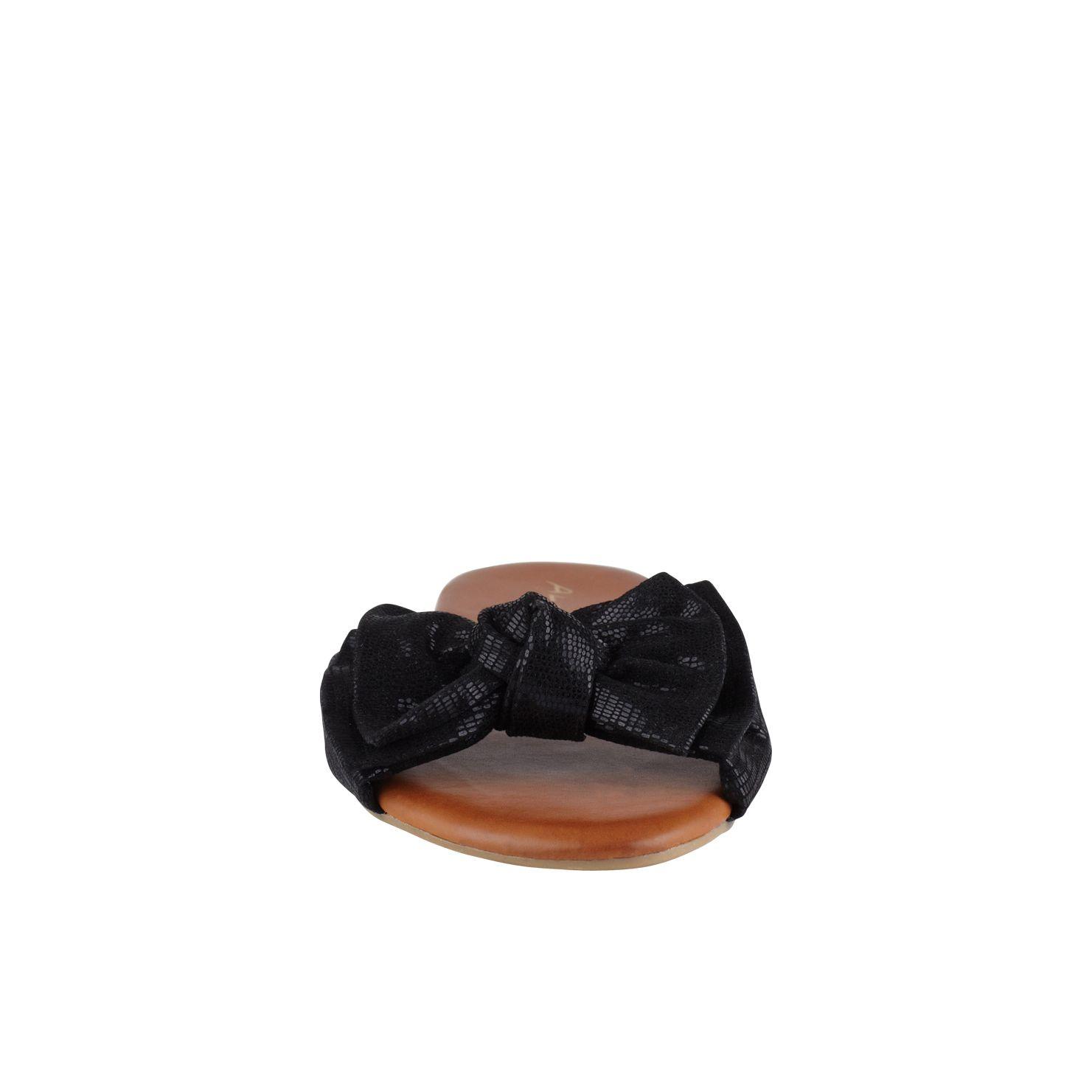 Aldo Gwiwen Bow Detail Flat Sandals In Black Lyst