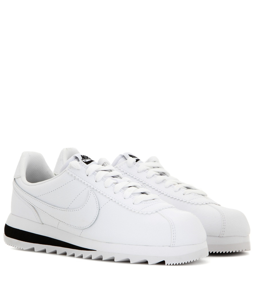 size 40 6e69e 0248d Nike Classic Cortez Epic Premium Leather Sneakers in White - Lyst