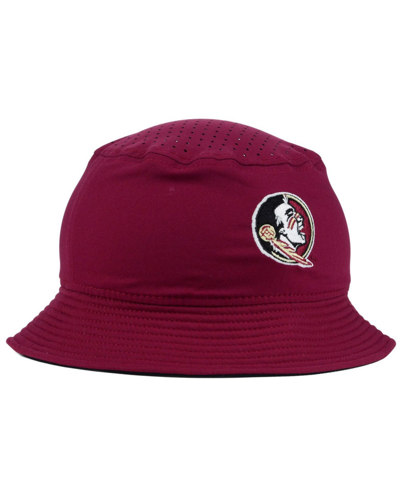 4e1845f031e ... discount lyst nike florida state seminoles vapor bucket hat in red for  men 711ca ac6f6