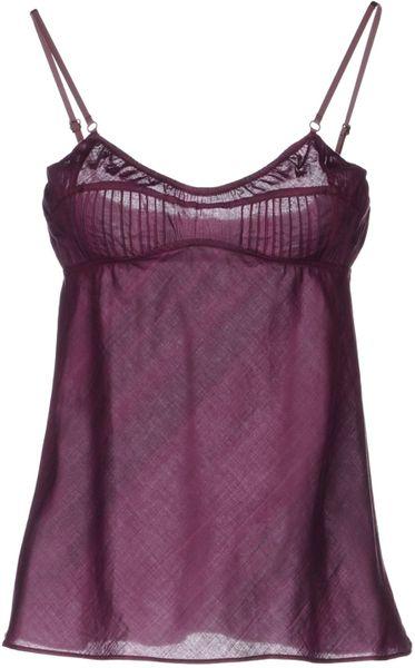 adidas Women's Deep Armhole Training Tank Top - Purple ...  |Deep Purple Tank Top