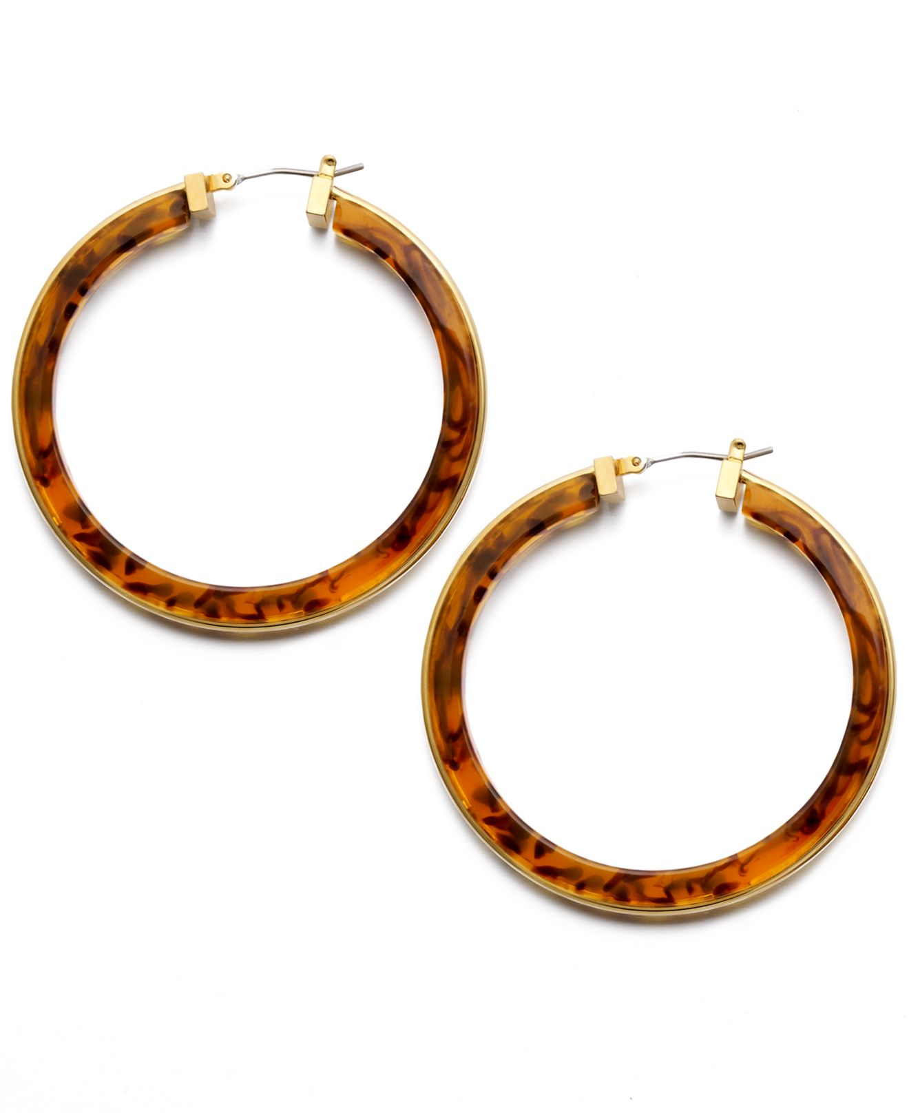 hoop earrings brown hi geneva tortoise cult res gaia