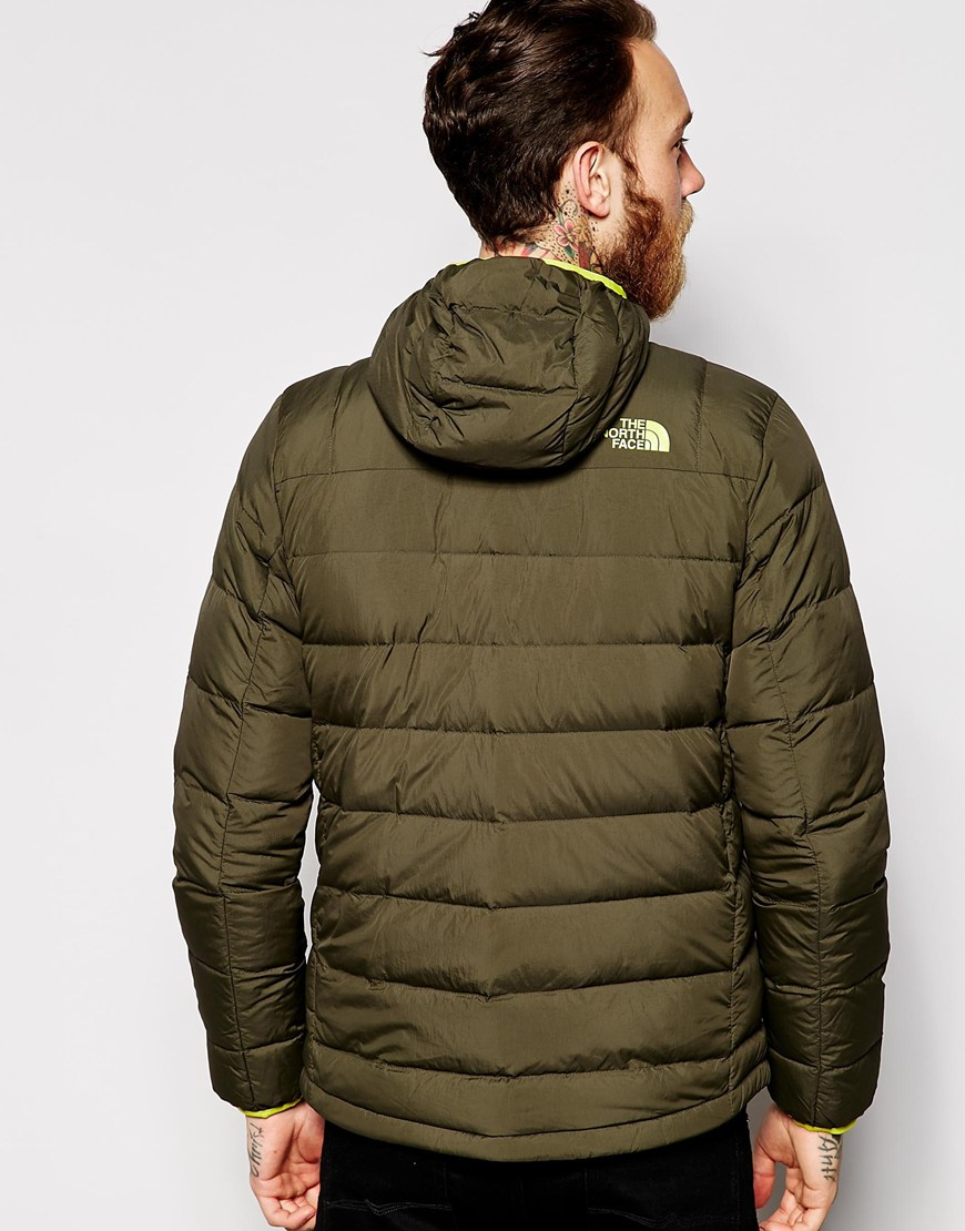 The north face La Paz Down Jacket With Hood in Green for Men | Lyst