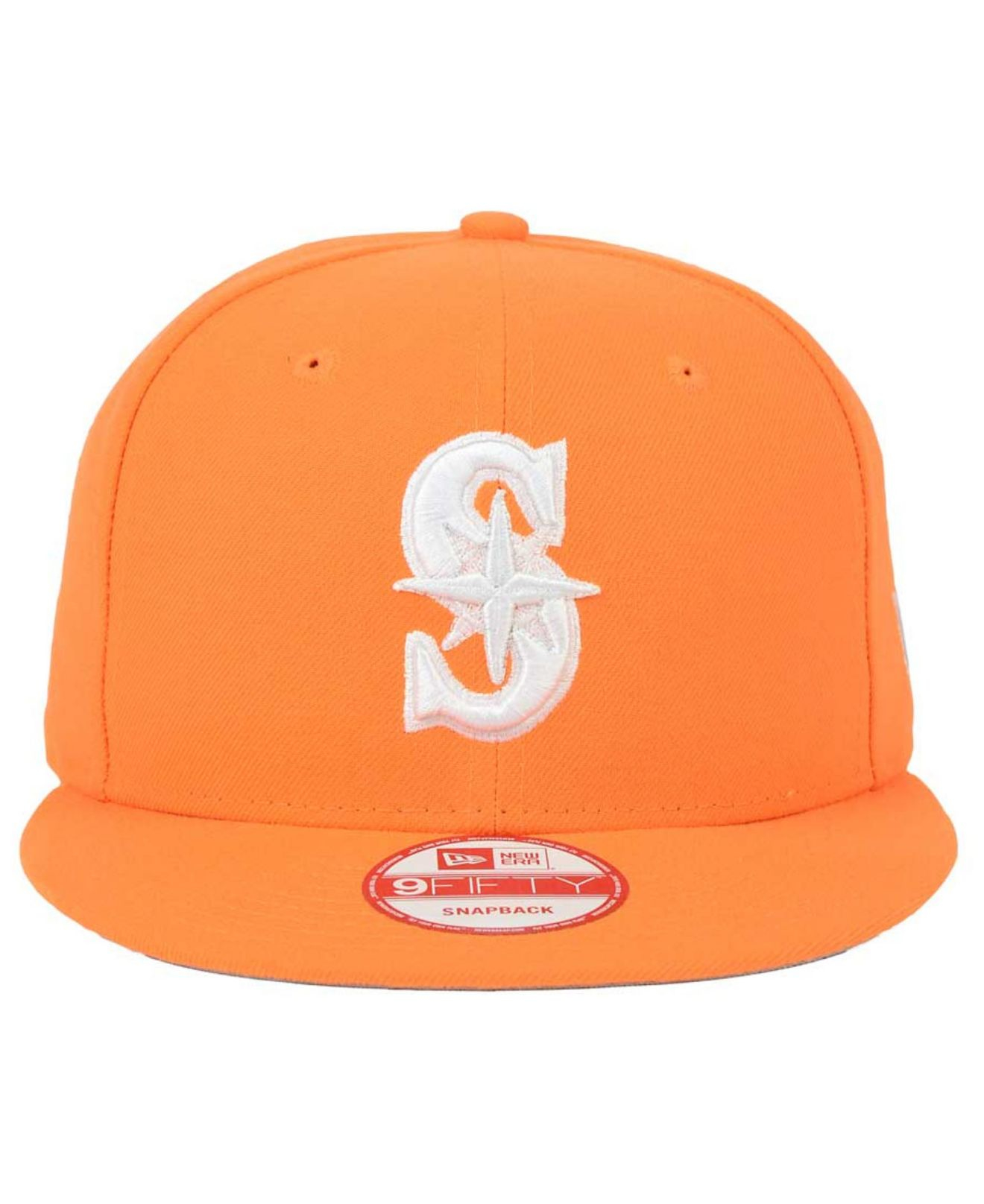 newest collection 7b194 b77ad ... discount code for italy lyst ktz seattle mariners c dub 9fifty snapback  cap in orange ba095