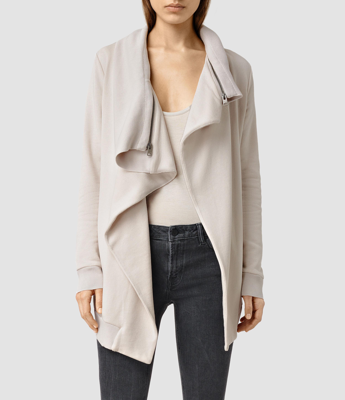 4d97731bc982c5 Lyst - AllSaints Dahlia Sweatshirt Usa Usa in Gray