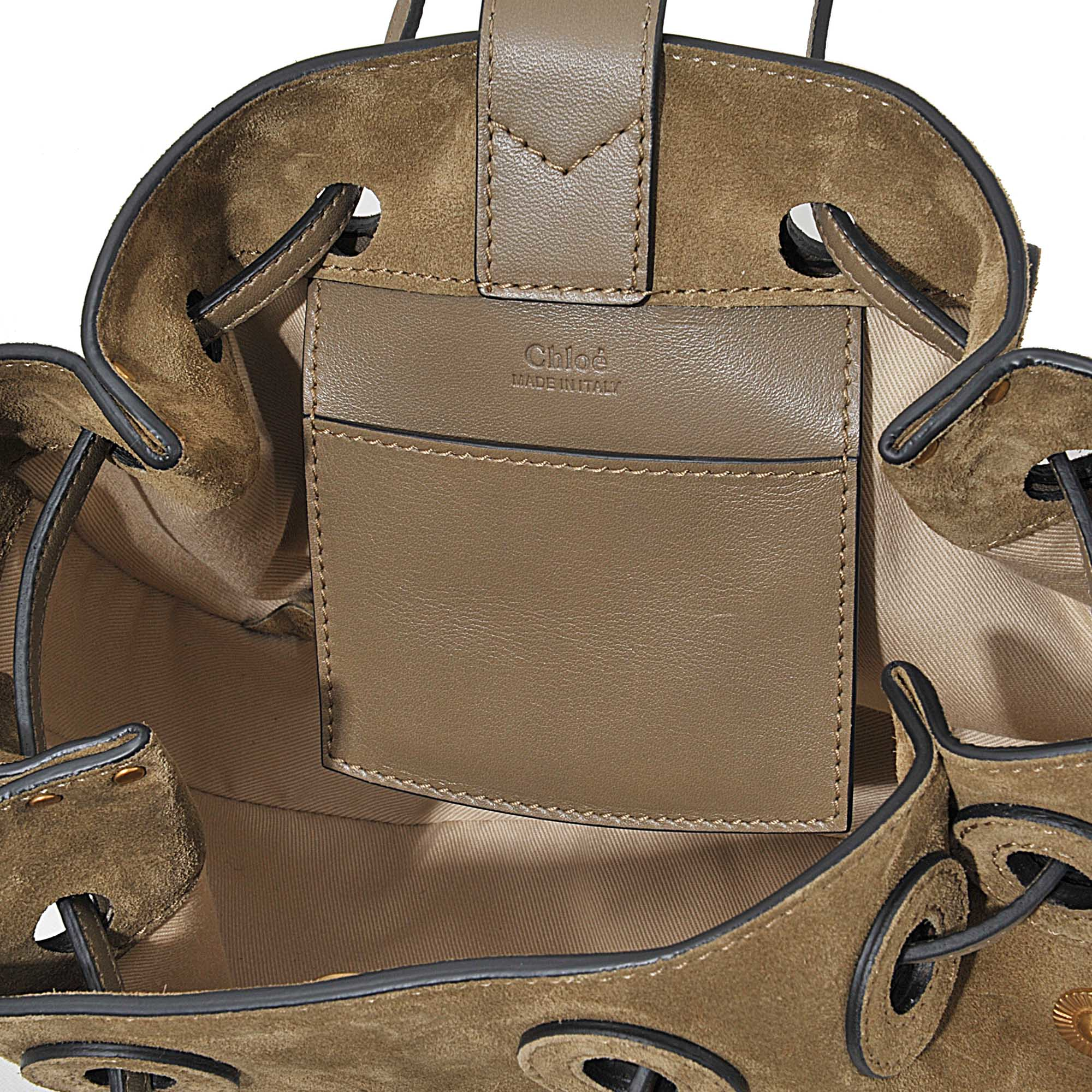 chloe bag - Chlo�� Inez Small Drawstring Bag in Brown - Save 31%   Lyst