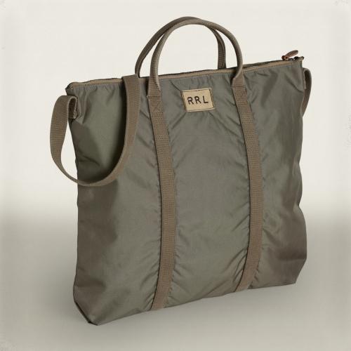 Rrl Nylon Tote Bag in Green for Men | Lyst