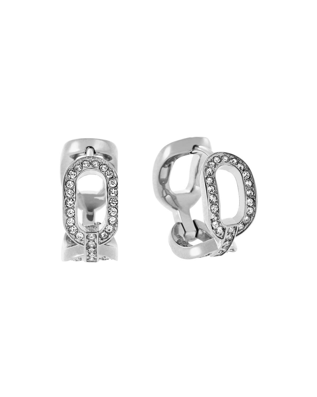 6400f3cf489f Lyst - Michael Kors Cityscape Chain Earrings in Metallic