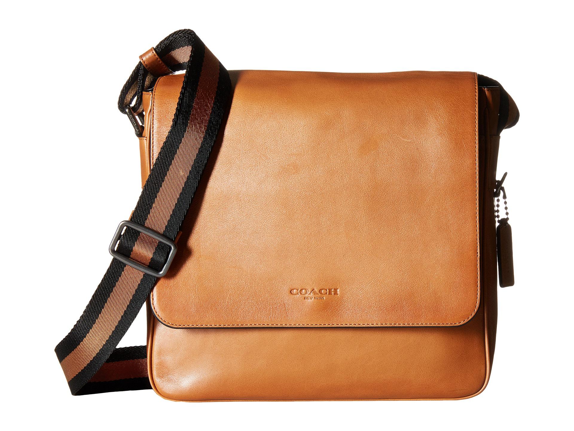 4e4f0ff5e COACH Sport Calf Metropolitan Map Bag in Brown for Men - Lyst