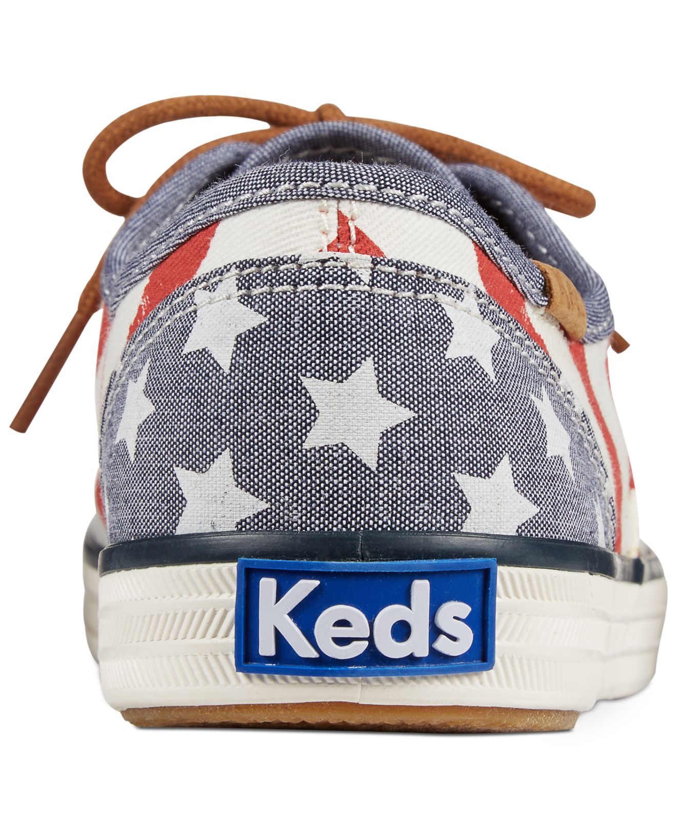 d3b58a705e3 Lyst - Keds Women s Champion Patriotic Sneakers in Red