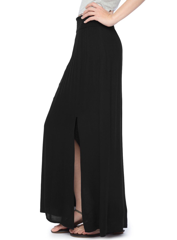 ella moss sydney maxi skirt in black lyst