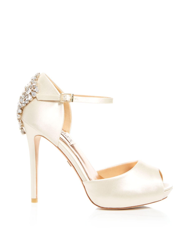 Ivory High Heels - Is Heel