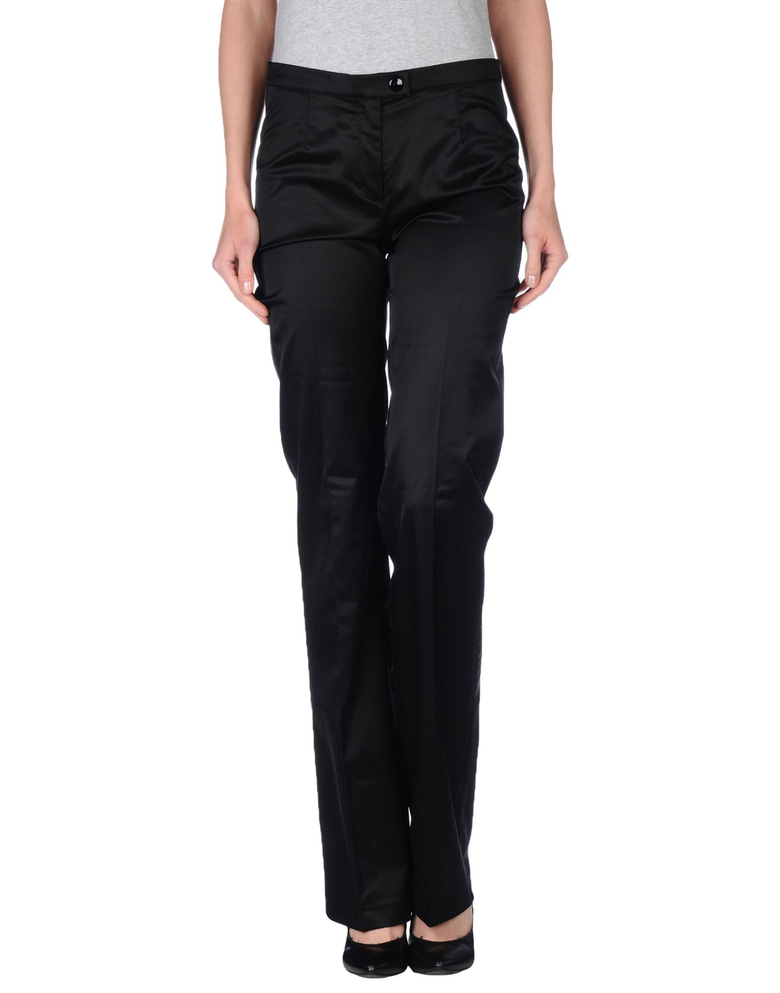 moschino casual trouser in black lyst