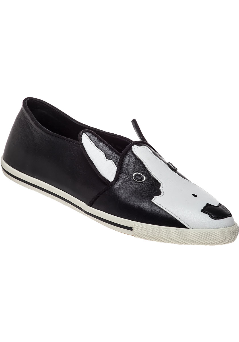 Lyst Marc By Marc Jacobs Neville Bull Terrier Loafers In