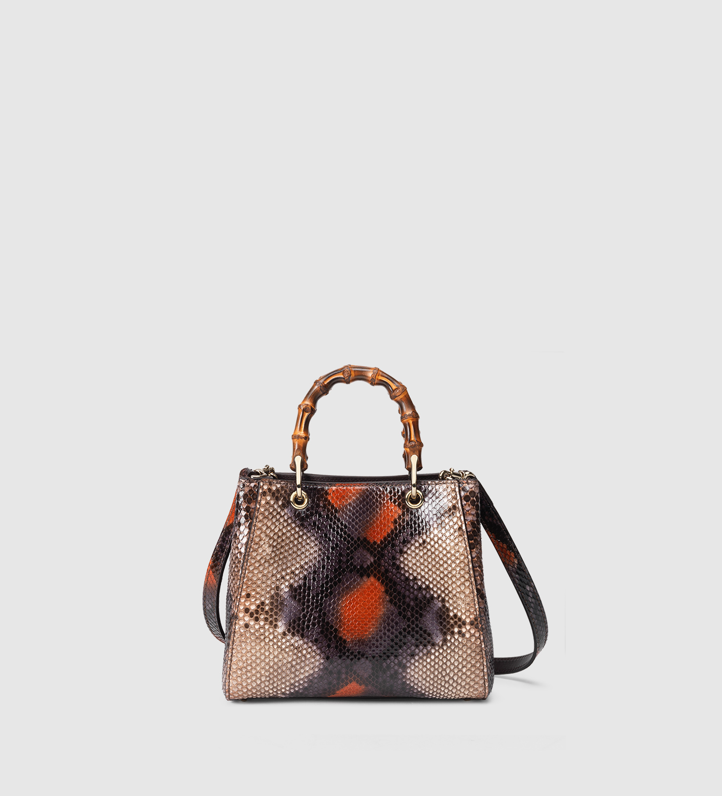 Gucci Dionysus Mini Python Bamboo-Handle Bag Wlqe97dw