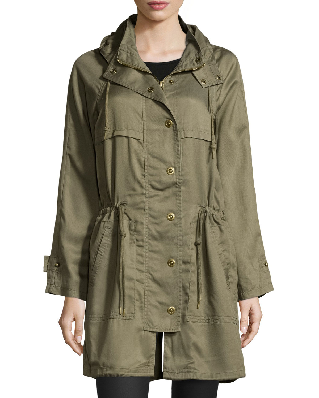 Raison D Etre Anorak Hooded Jacket In Green Lyst