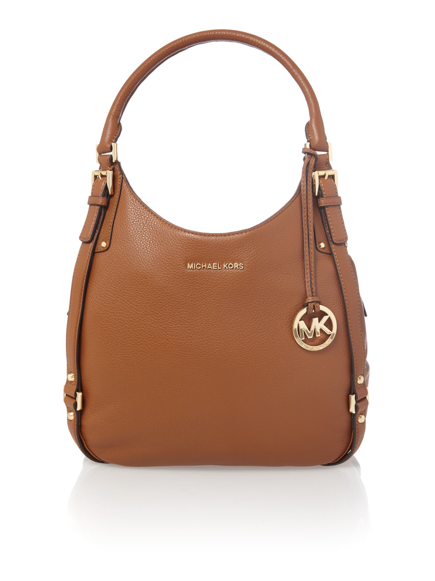 8476fe6f9594 Michael Kors Bedford Hobo Bag in Brown - Lyst ...