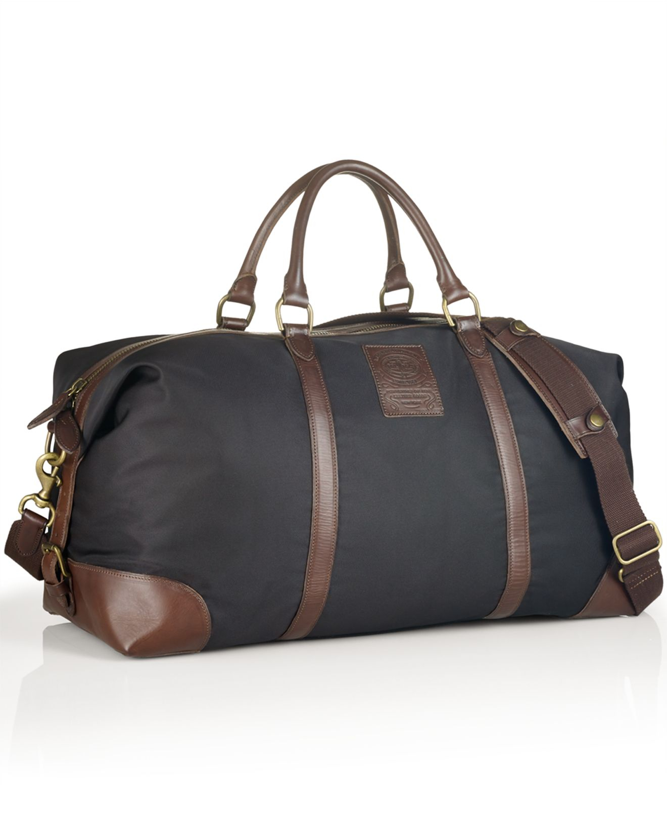 deea1d5478e4 Lyst - Polo Ralph Lauren Large Nylon Duffel Bag in Black for Men
