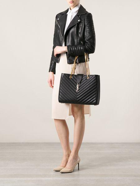 dea69ad13dd6 ... saints purses handbags - Black Shoulder Bag images classic monogram  saint laurent shopping bag yves saint laurent ...