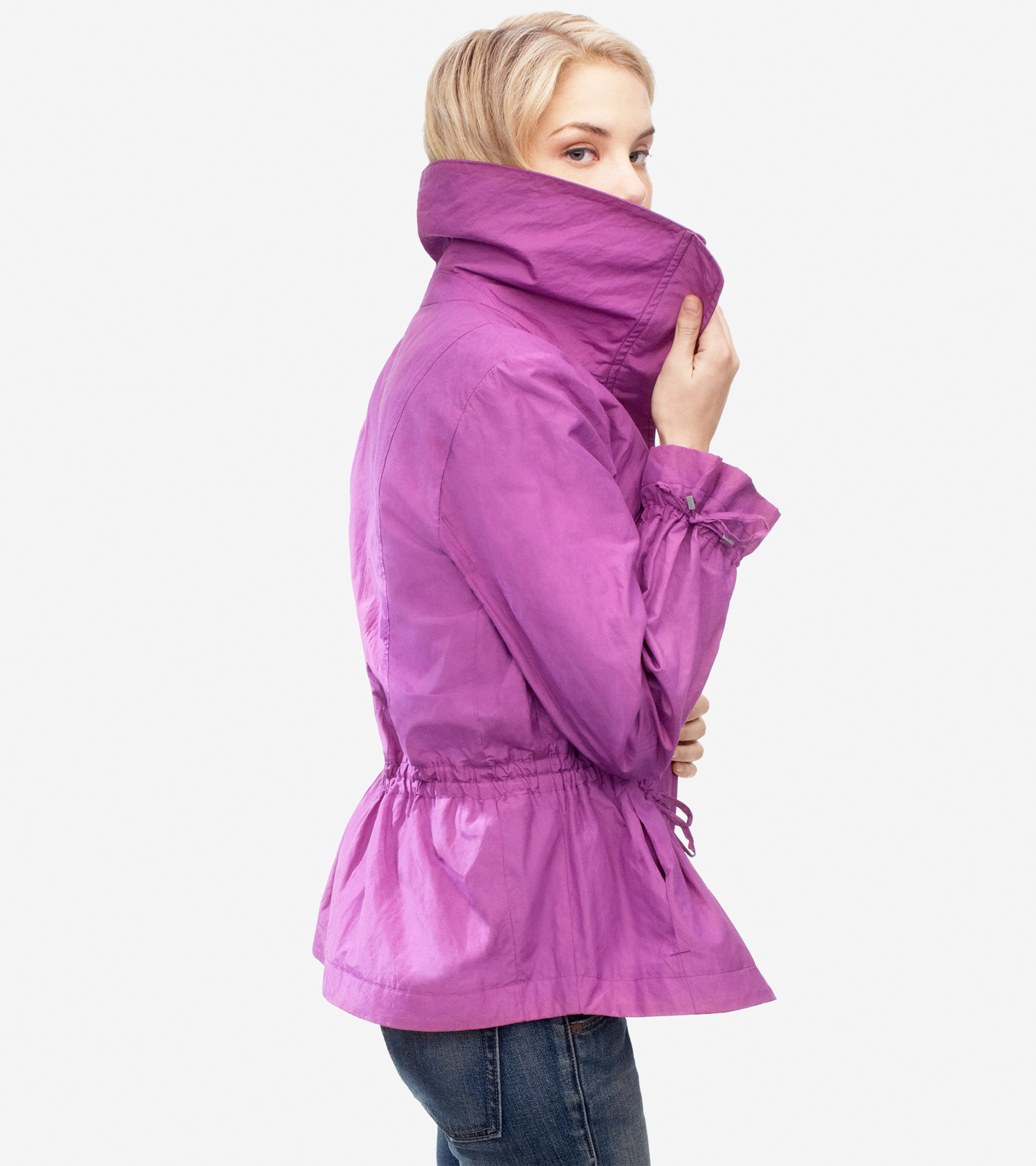 Cole Haan Rain Coat