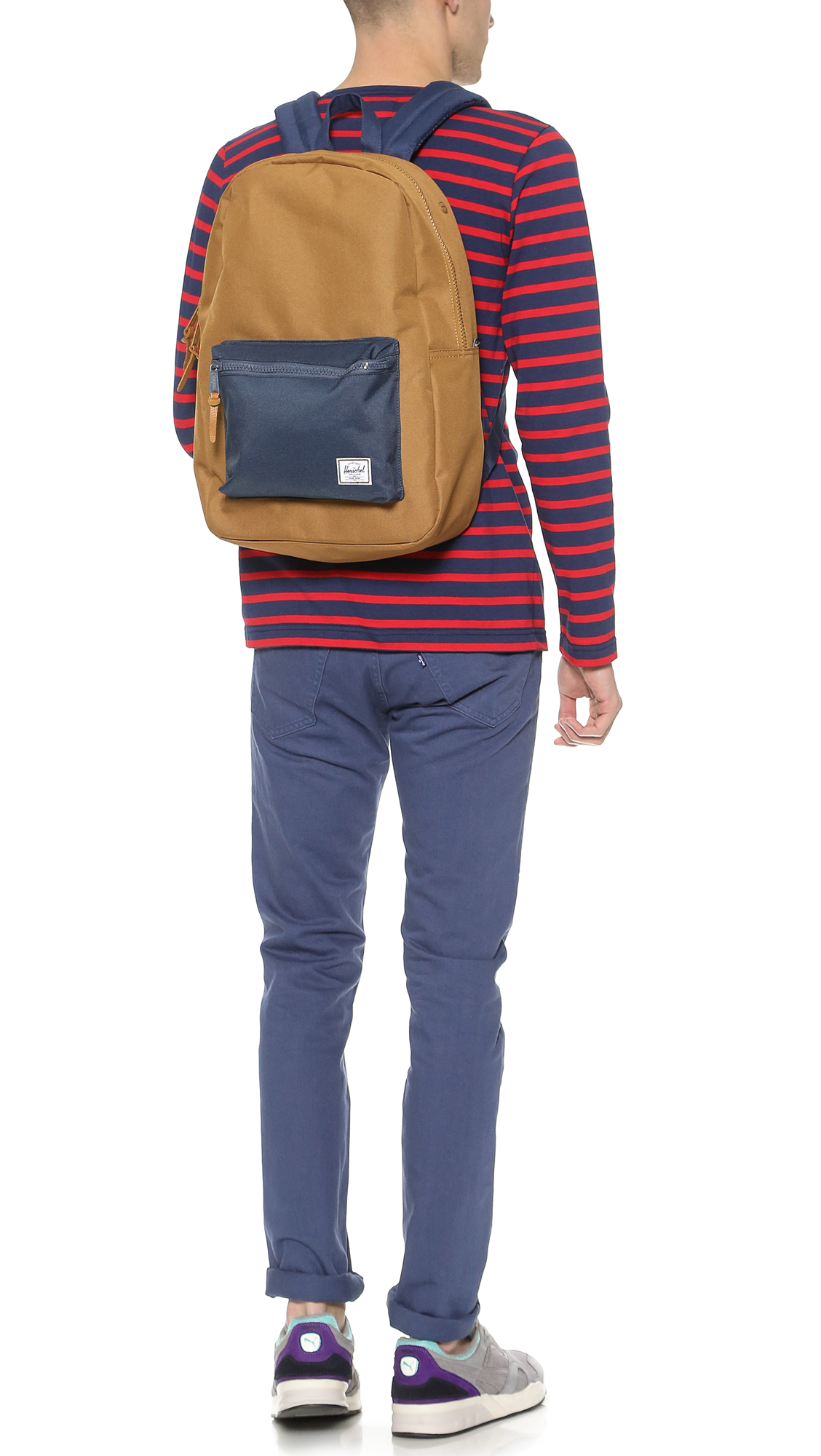 Men Settlement Brown Backpack Co for Herschel in Supply Lyst wq8xazO4t
