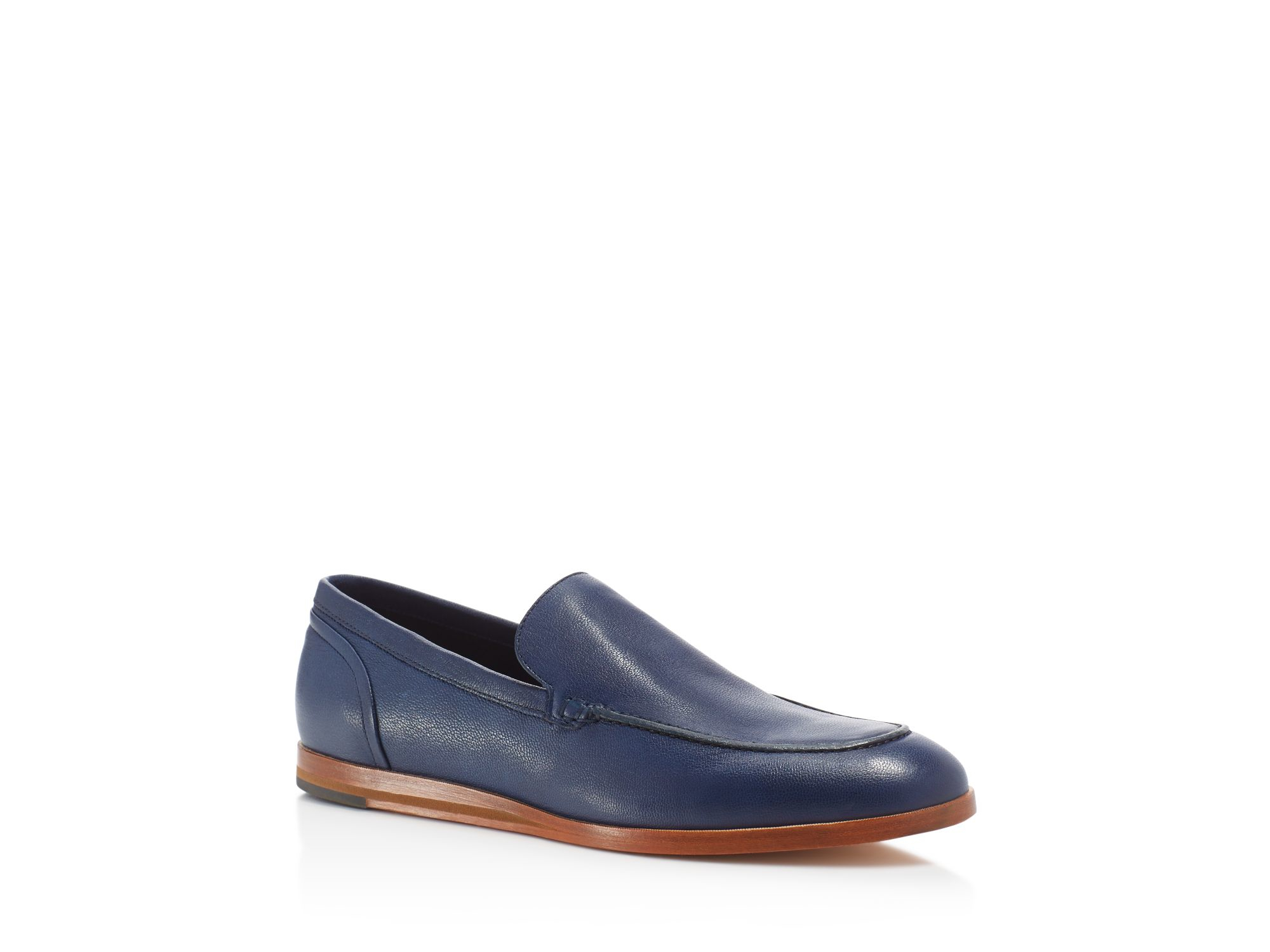 79155529af6 Lyst - Cole Haan Bedford Venetian Loafers - Compare At  228 in Blue ...