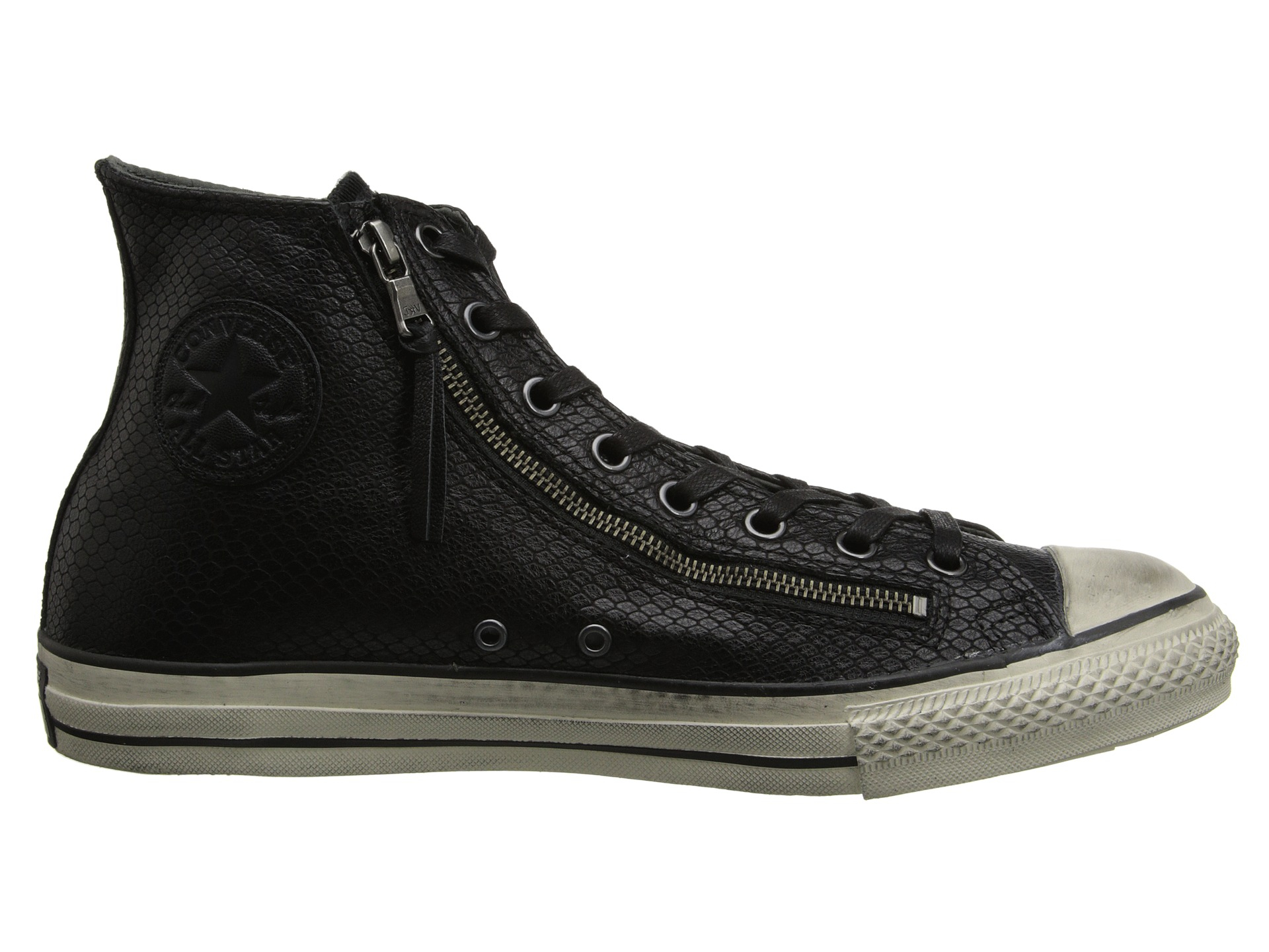 Lyst Converse Chuck Taylor All Star Leather Double Zip