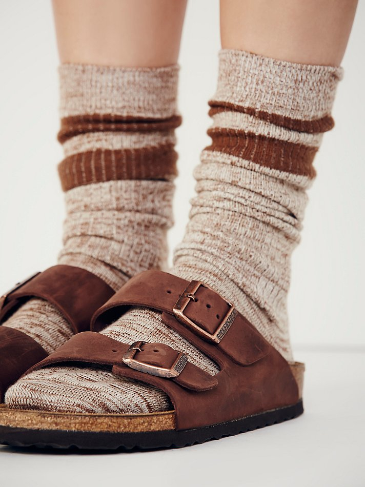 Lyst Free People Arizona Birkenstock In Brown