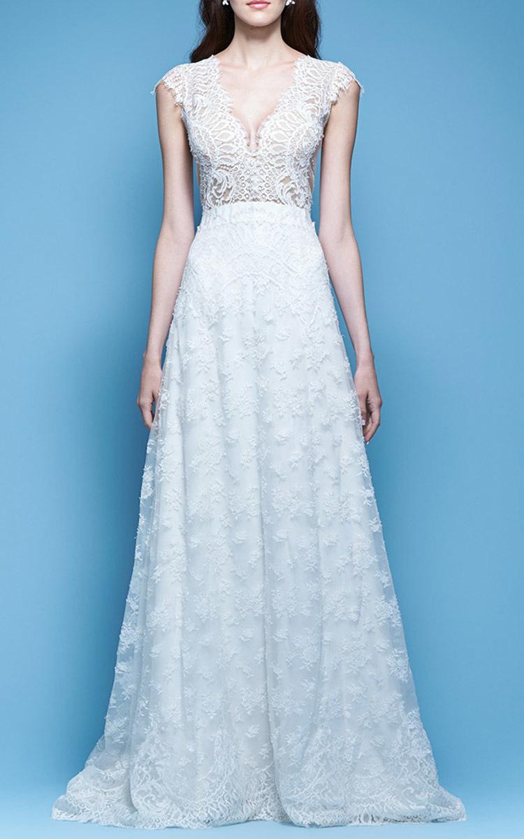 Lyst - Carolina Herrera The Claudette In Ivory in White
