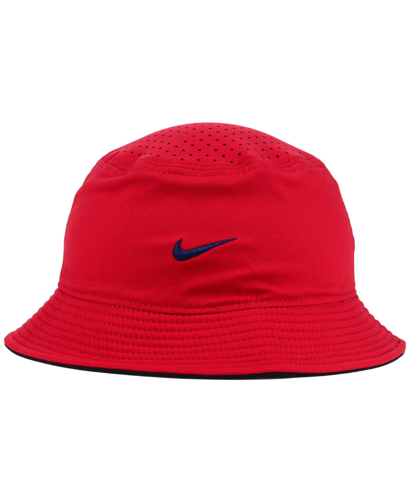 Lyst - Nike St. Louis Cardinals Vapor Dri-Fit Bucket Hat in Red for Men d1282932c47
