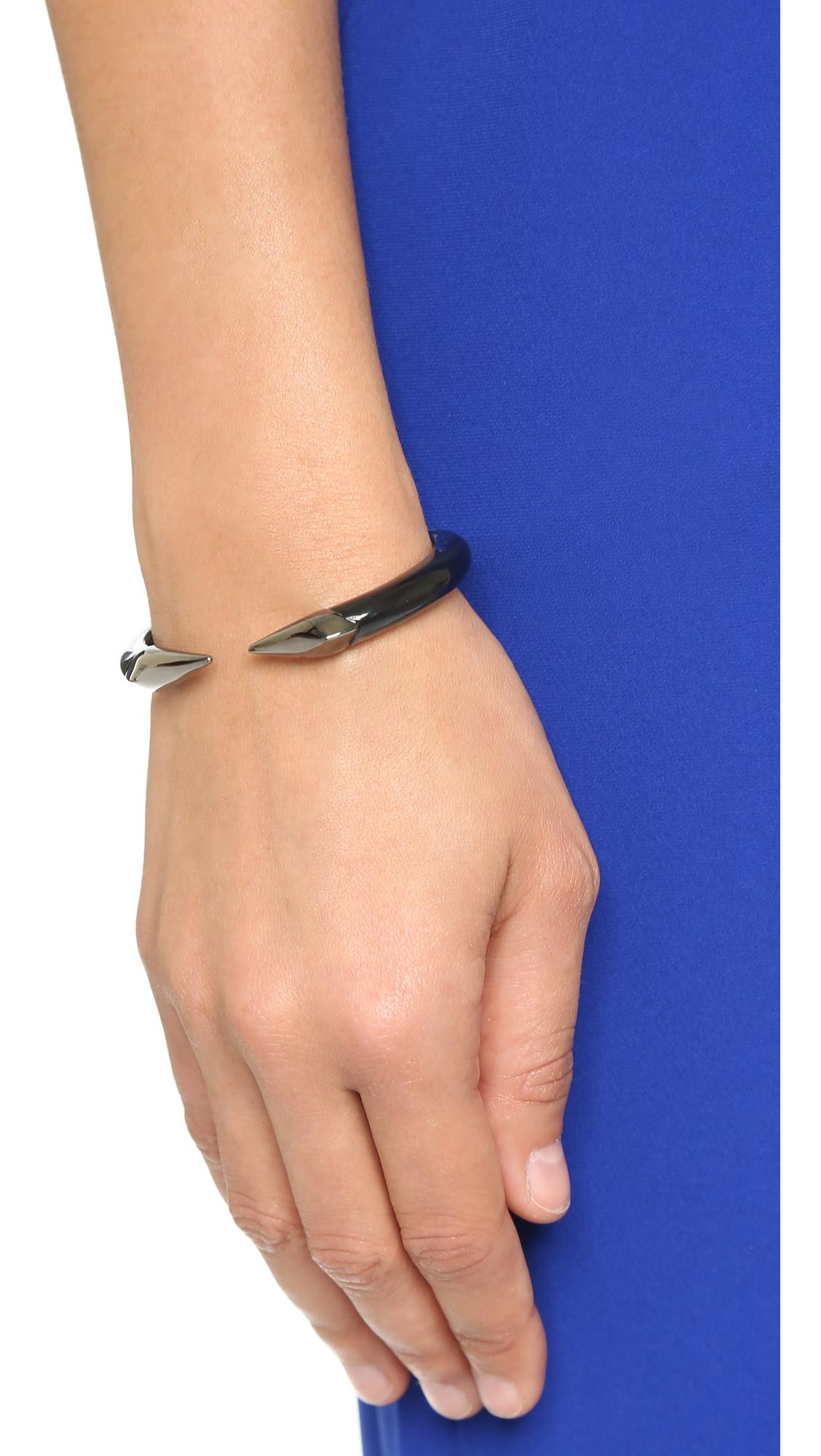 Alexis Bittar Pavé Crystal Pyramid Cuff Bracelet CjM0RXJ