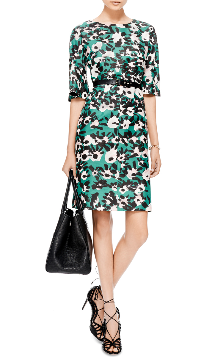 Best Choice Printed cotton dress Marni Find Great Online Cheap Sale Cheap rAn8hKSz
