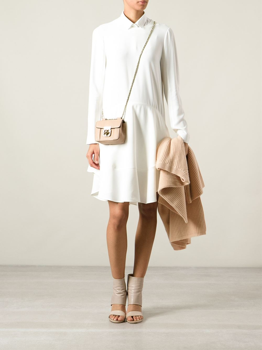 100% top quality search for authentic save up to 60% Chloé Natural Small 'elsie' Shoulder Bag