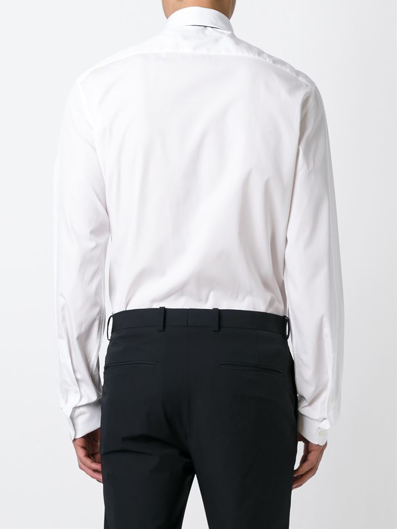 Valentino Classic Button Down Shirt In White For Men Lyst