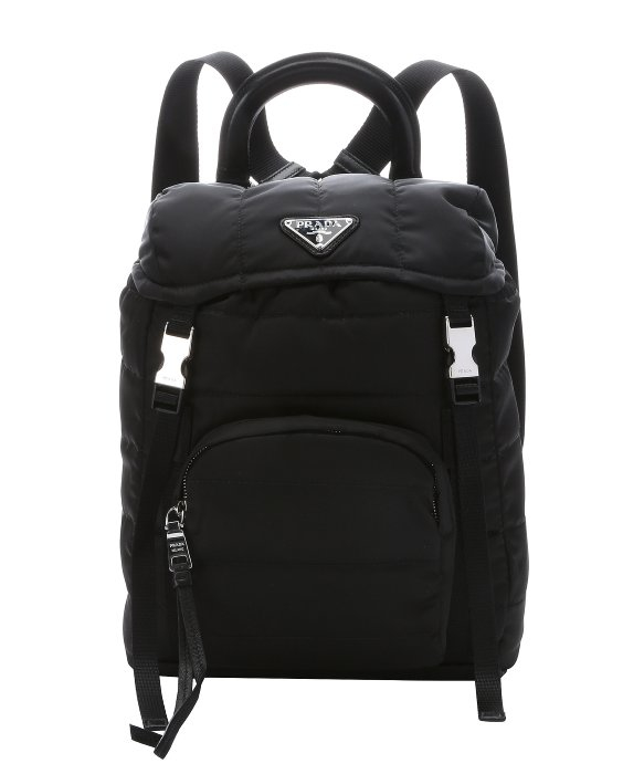 6c50635b30c8 ... australia promo code for lyst prada black quilted tessuto nylon small  backpack in black 71847 7d7a5