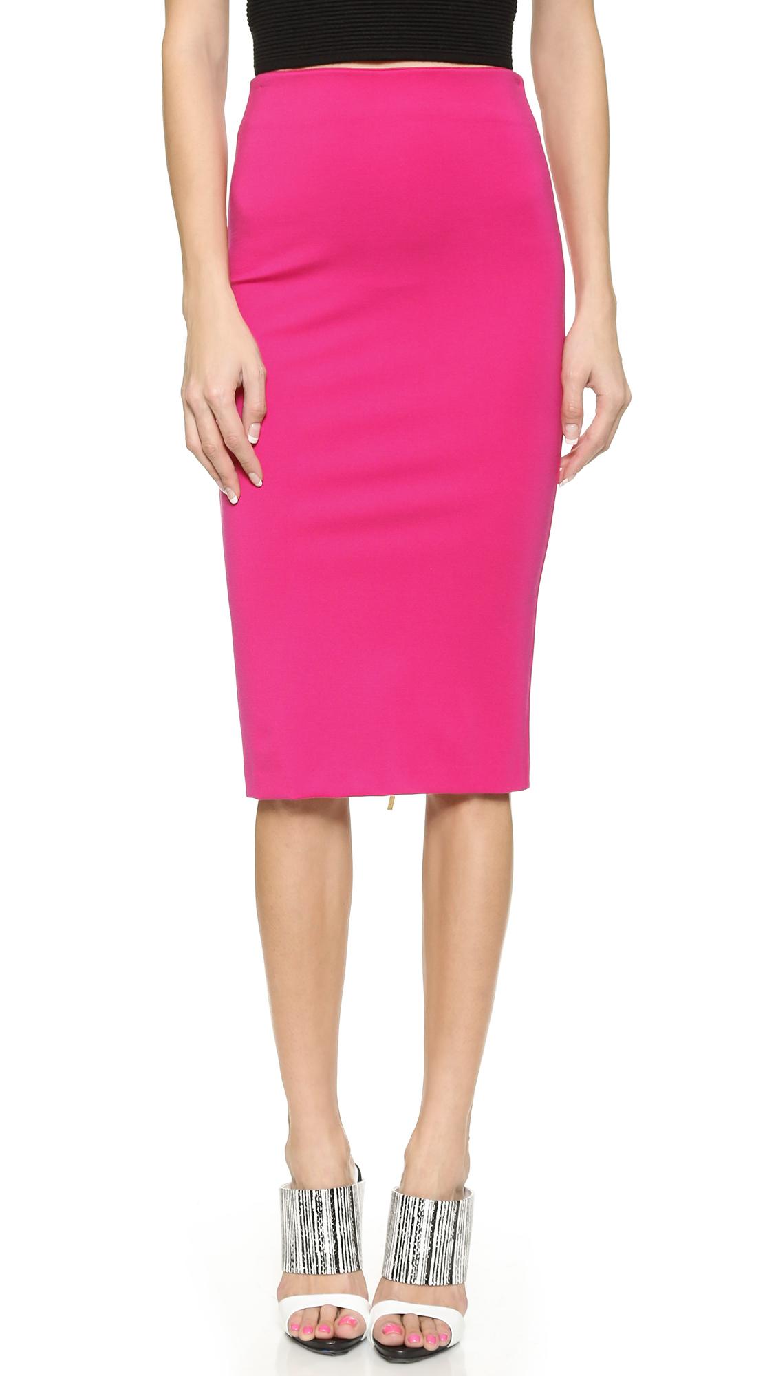 6019c7b6a7 5Th & Mercer Pencil Skirt in Pink - Lyst
