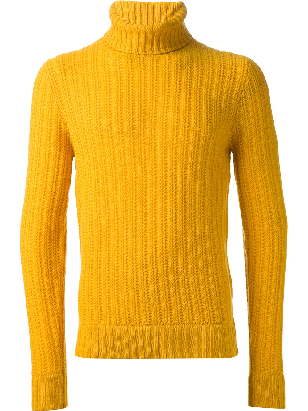 Woolrich Ribbed Sweater in Yellow for Men | Lyst