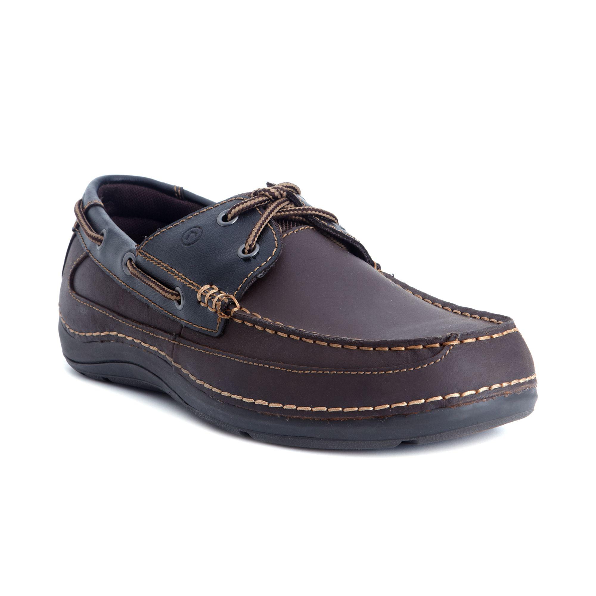 Rockport Shoal Lake Sebert 2eye Boat Shoes in Brown for Men (Cocoa