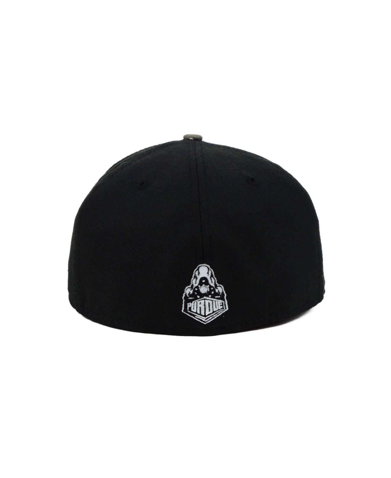 sale retailer 6f13e 198fb ... discount lyst ktz purdue boilermakers ncaa urban camo 59fifty cap in  white 8e41f 58e88