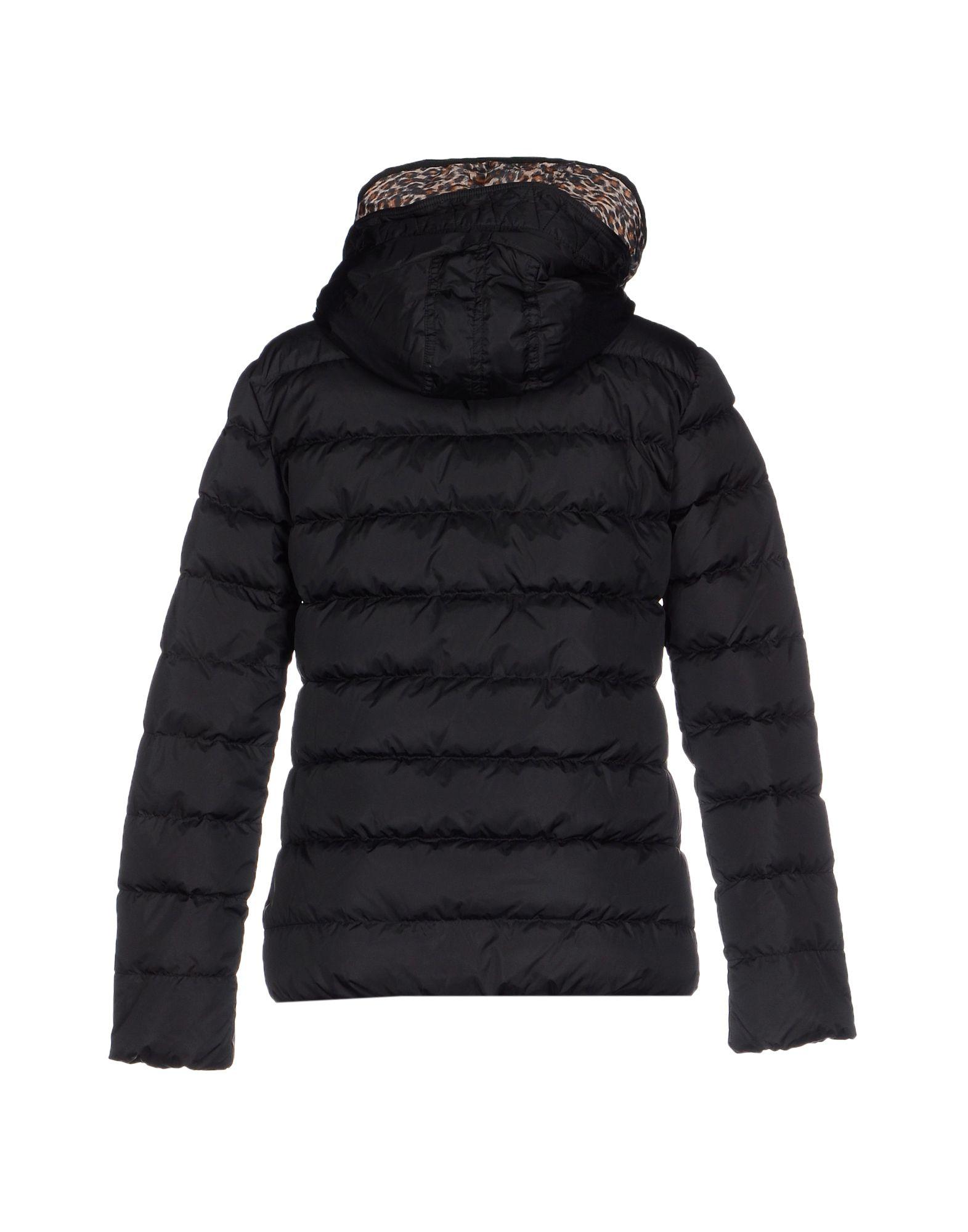 maison scotch down jacket in black lyst. Black Bedroom Furniture Sets. Home Design Ideas
