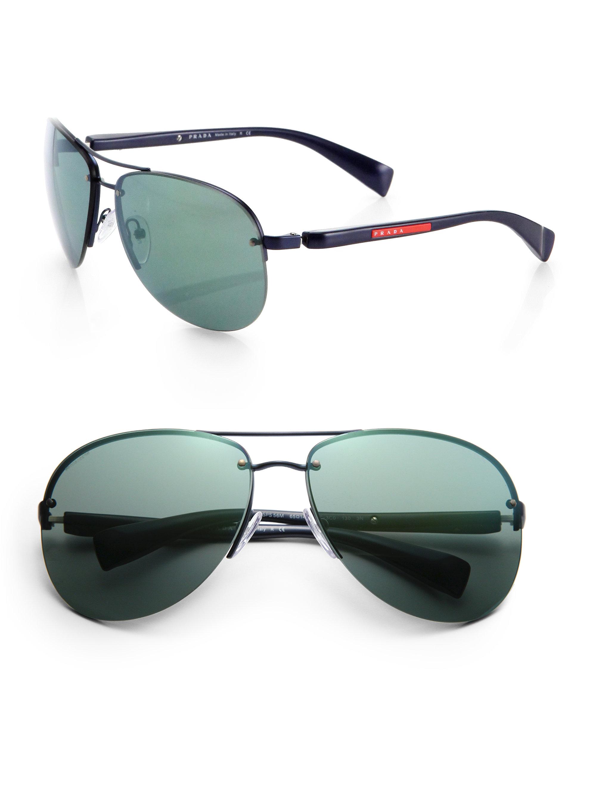 77f359d846937 Prada Aviator Sunglasses For Men