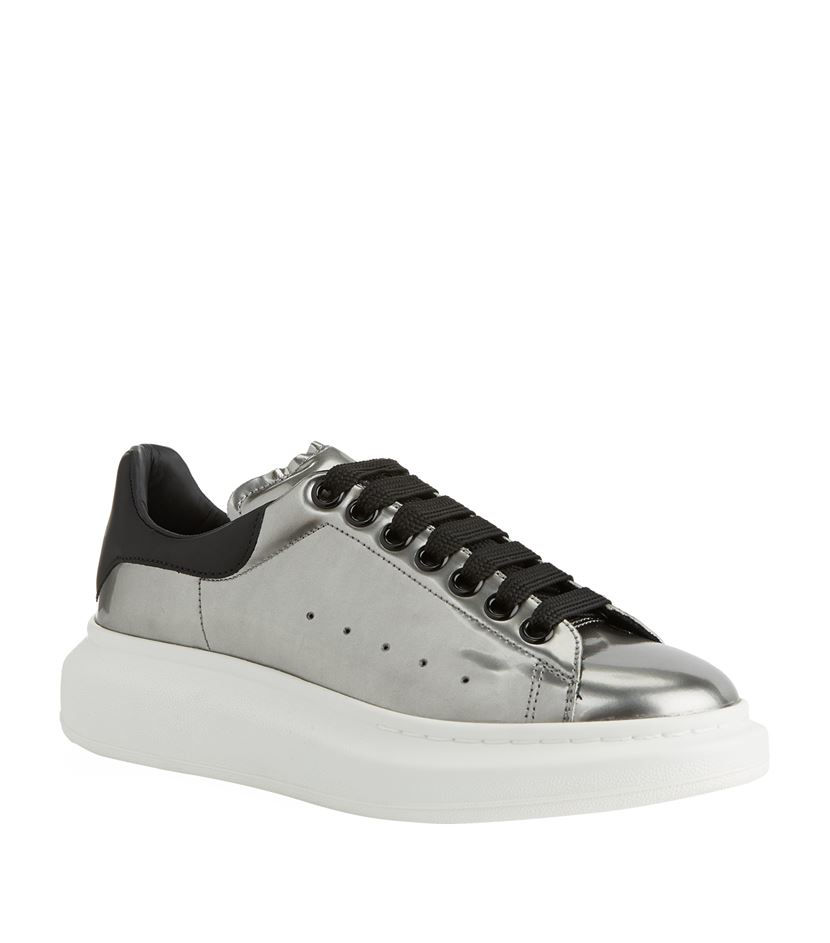 Cheap Sale Visa Payment Alexander McQueen & Metallic Oversized Sneakers Discount Factory Outlet njQES0Umj