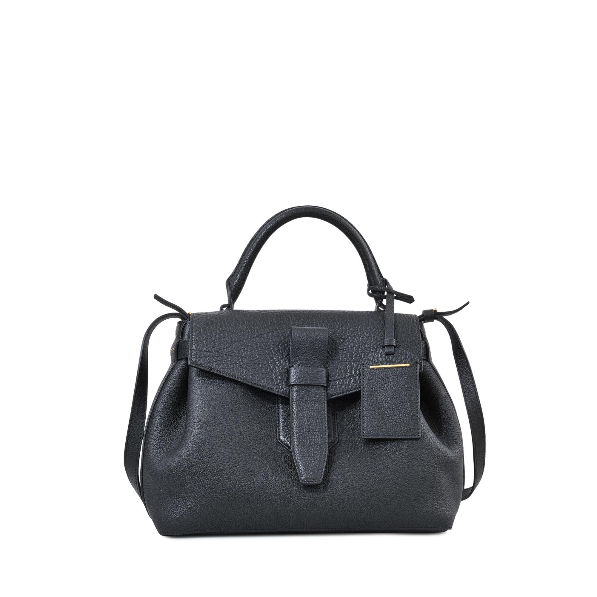 lancel charlie handbag in black lyst. Black Bedroom Furniture Sets. Home Design Ideas