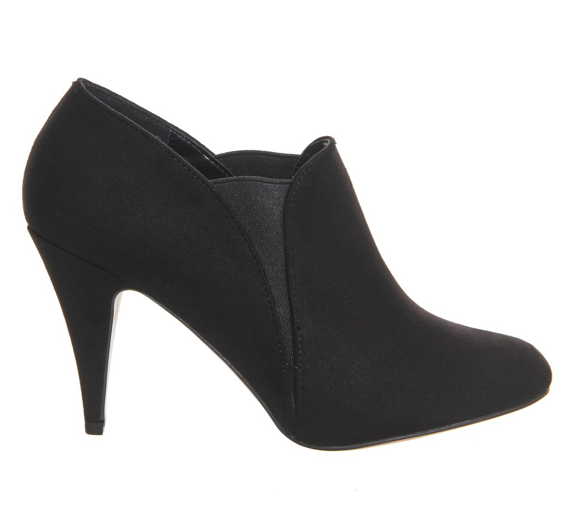 office quintessential shoe boots in black lyst
