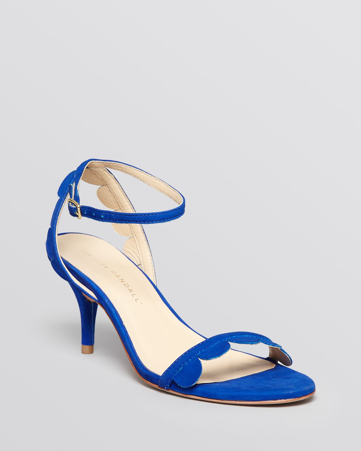 Royal Blue Sandals Heels - Is Heel