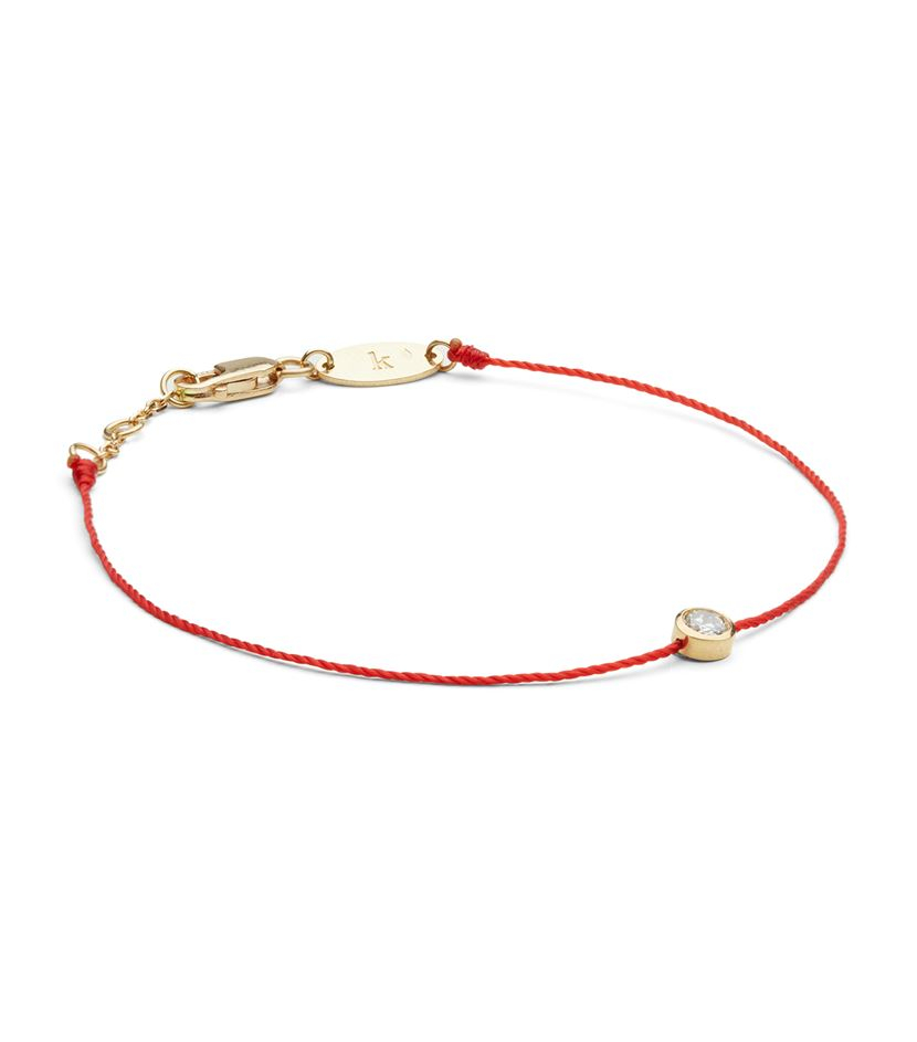 Redline Yellow Gold And Diamond Pure Bracelet With Red. 14k Yellow Gold Ankle Bracelets. 2 Carat Diamond Eternity Band. Charm Jewelry. Lover Bracelet. Toddler Ankle Bracelet. Jewellers Wedding Rings. Peace Sign Necklace. Tiny Pendant