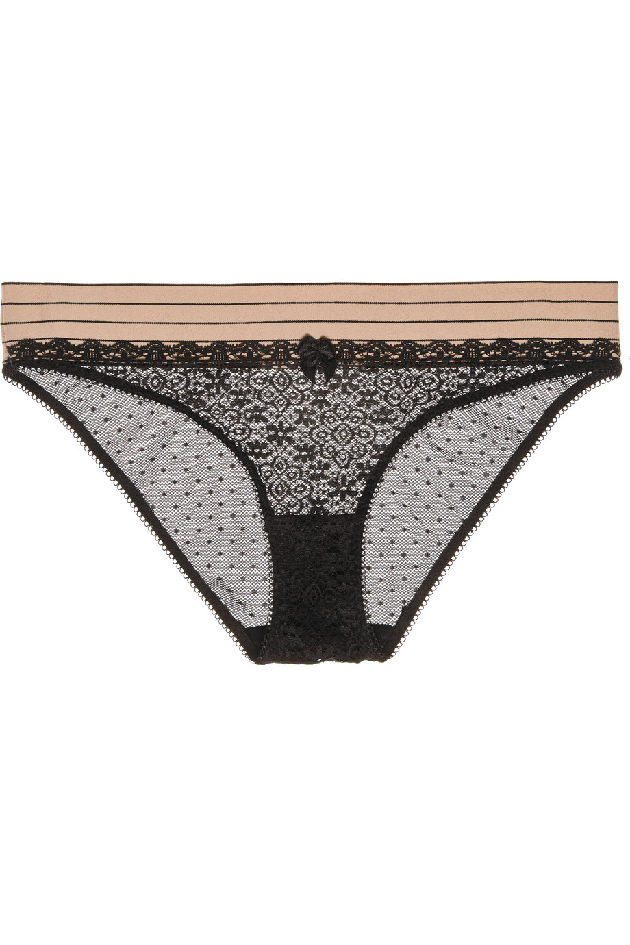 Lyst stella mccartney millie drawing lace and swiss dot for Stalla ovini dwg