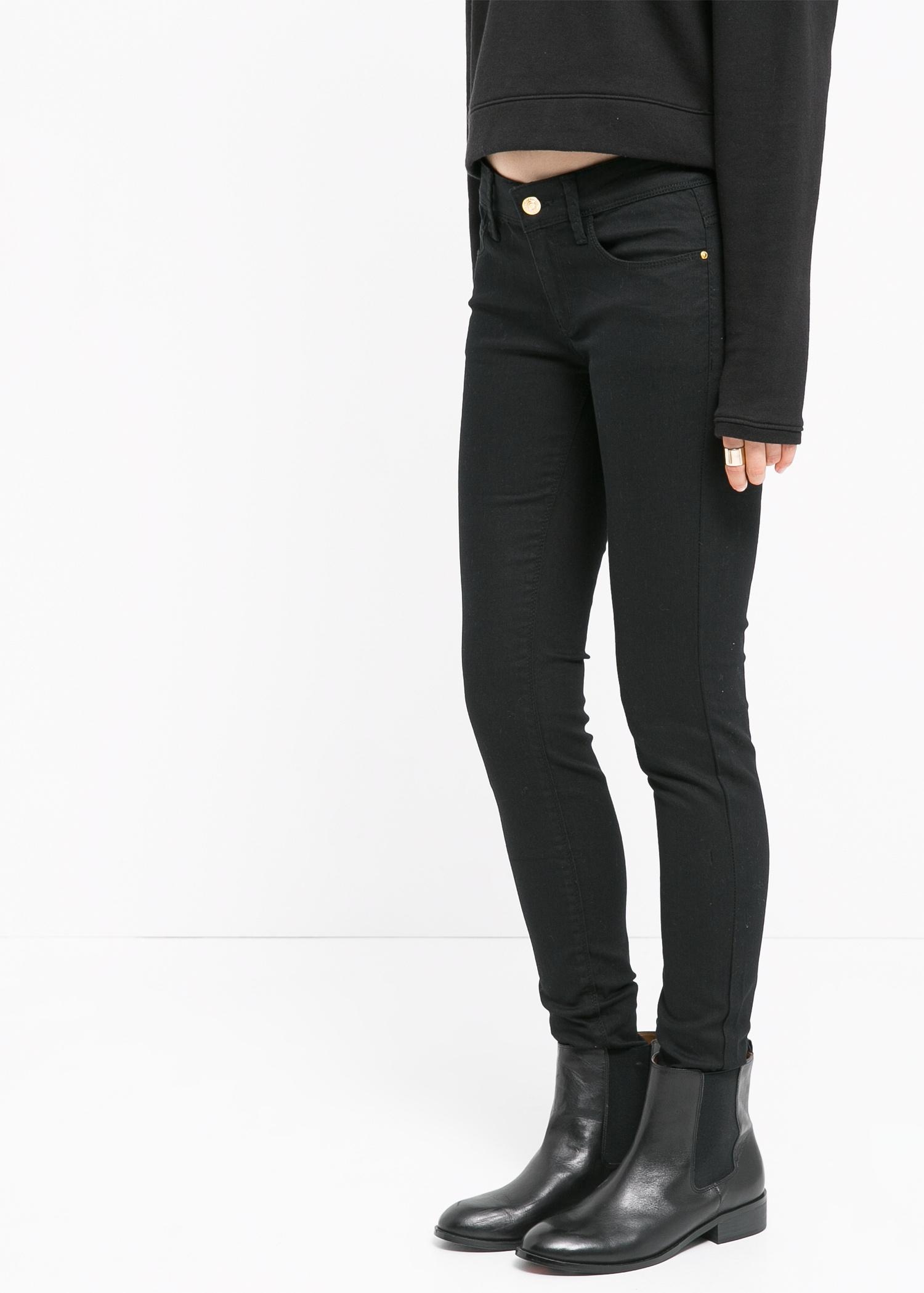 Black Gloss Jeans