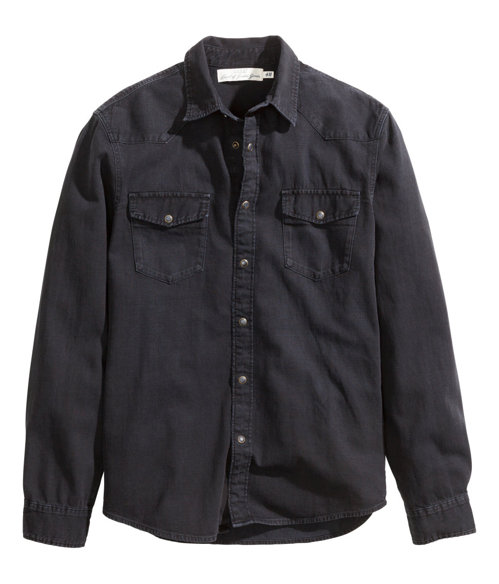 I've got about four pair of Carhartt denim shirts that get me through the Winter. But they are really too heavy for wear any other time of year.