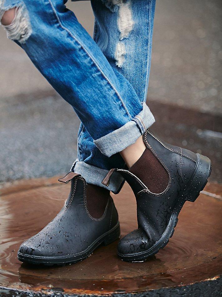 41243bdba6a2 Lyst - Free People Blundstone Womens Blundstone Boot in Brown