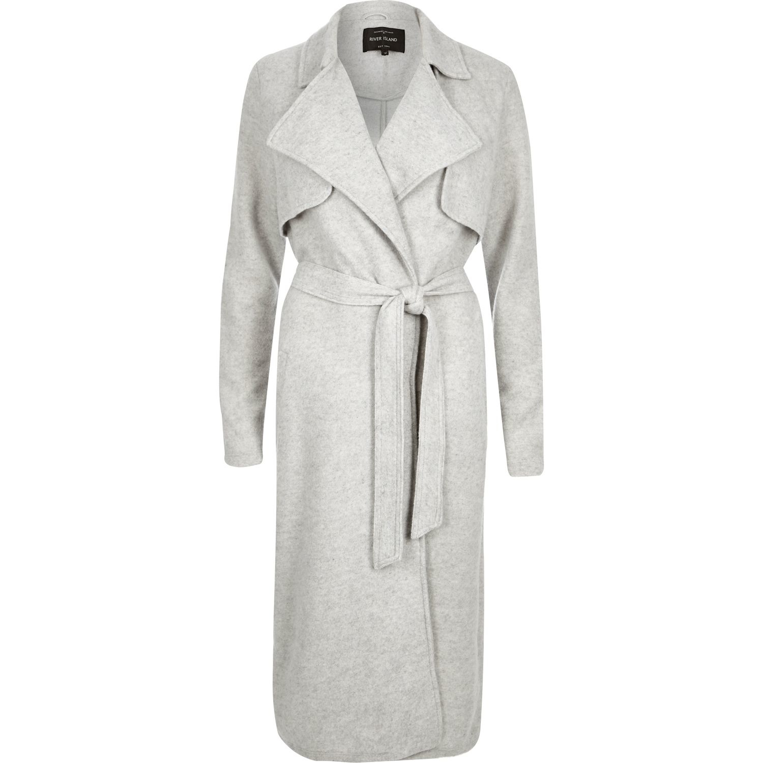 River Island Long Length Trench